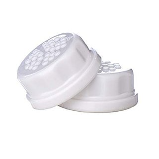 Lifefactory Solid White Caps, 2pk