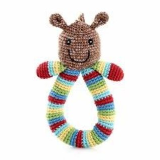 Pebble Horse Ring Rattle