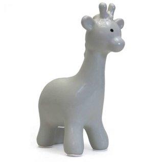 Child To Cherish Grey Giraffe Bank