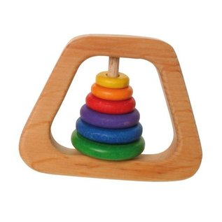 Grimm's 6 Disc Rattle Pyramid