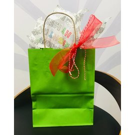 Gift Wrap, Holiday Green
