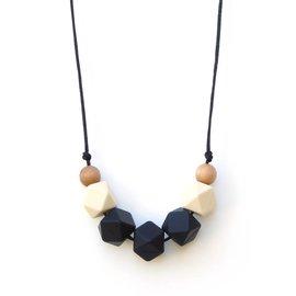 Loulou Lollipop Lollia Mama Necklace, Black