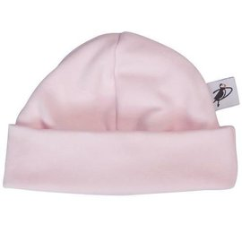 Puffin Gear Pink Organic Cotton Jersey Beanie