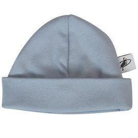 Puffin Gear Blue Organic Cotton Jersey Beanie