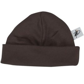 Puffin Gear Brown Organic Cotton Jersey Beanie