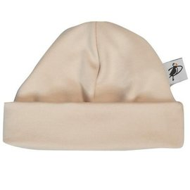 Puffin Gear Tan Organic Cotton Jersey Beanie