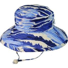 Puffin Gear Blue Surf Sunbaby Hat