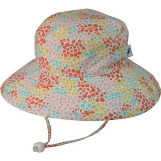 Puffin Gear Pink Meadow Sunbaby Hat