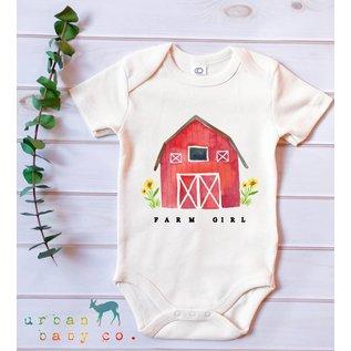 Urban Baby Co. Farm Girl Organic Tee