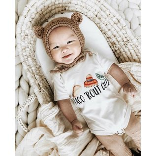 Taco Bout Cute Organic Baby Bodysuit