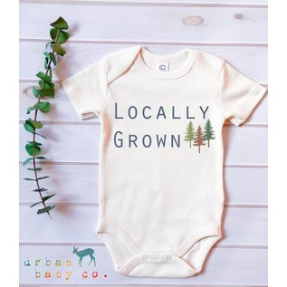 Urban Baby Co. Locally Grown Organic Baby Bodysuit