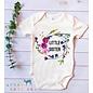 Urban Baby Co. Little Sister Floral Organic Baby Bodysuit