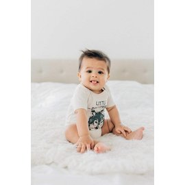 Little Brother Wolf Organic Baby Bodysuit