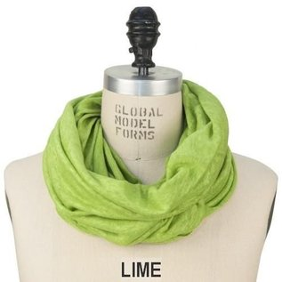 Puffin Gear Lime Linen Nursing Scarf