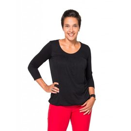Momzelle Nursing Top, JULIETTE, Black