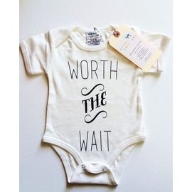 Urban Baby Co. Worth The Wait Organic Baby Bodysuit