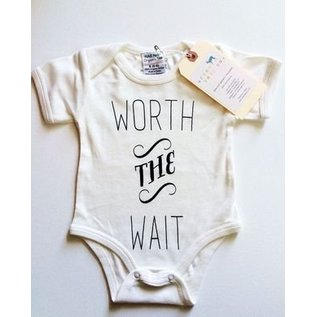 Urban Baby Co. Worth The Wait Organic Baby Bodysuit
