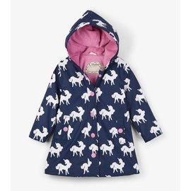 Hatley Colour Changing Unicorns Splash Jacket