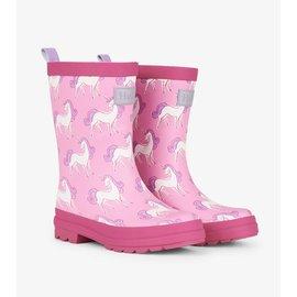 Hatley Unicorn Doodles Matte Rain Boots