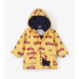 Hatley Vintage Firetrucks Baby Raincoat