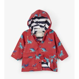 Hatley Scooting Dinos Baby Raincoat