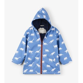 Hatley Colour Changing Silhouette Dinos Raincoat