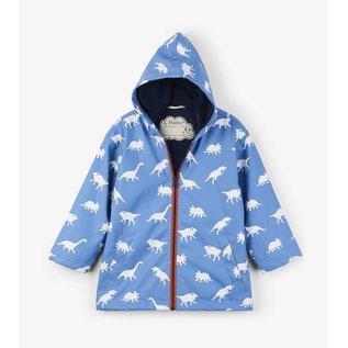 Hatley Colour Changing Silhouette Dinos Splash Jacket