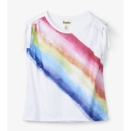 Hatley Rainbow Cinched Shoulder Tee