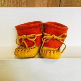 Red 2 Tone Moccasin
