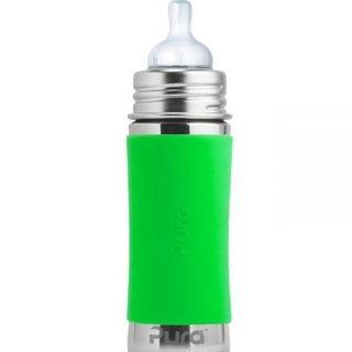Green Pura 260ml Insulated Infant Bottle