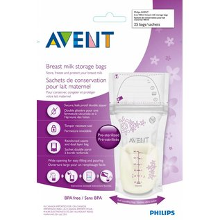 Breastmilk Storage Bags, 25