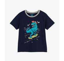 Skateboarding T-Rex Graphic Tee