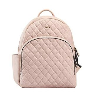 Soho Collections Pink Boise Backpack Diaper Bag