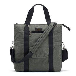 Soho Collections Light Grey David Tote Diaper Bag