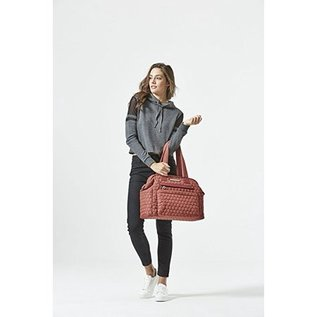 Soho Collections Apple Red Union Square Tote Diaper Bag