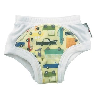 AppleCheeks Who Cars? Waterproof Learning Pant