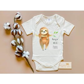 Urban Baby Co. Sloth Organic Baby Bodysuit