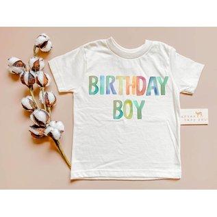 Urban Baby Co Birthday Boy Organic Tee