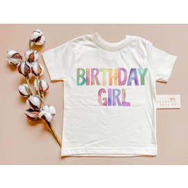 Urban Baby Co. Birthday Girl Organic Tee