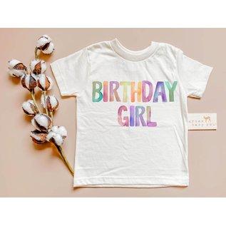 Urban Baby Co. Birthday Girl Organic Tee