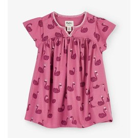 Hatley Swan Lake Baby Puff Dress