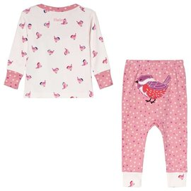 Hatley Birdies Organic Cotton Baby PJ Set