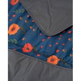 Little Unicorn Midnight Poppy Outdoor Blanket