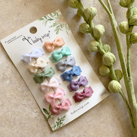 12 pack Snap Clips, Multicolour