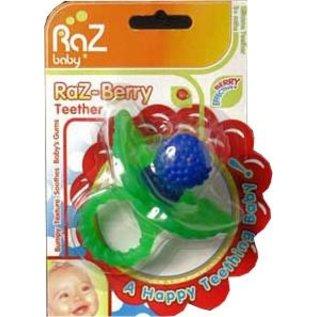 Razbaby Blue Raz-Berry Teether