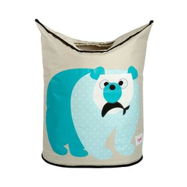 3 Sprouts Laundry Hamper, Polar Bear