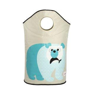 3 Sprouts Laundry Hamper, Polar Bear