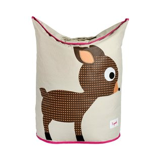 3 Sprouts Laundry Hamper, Deer