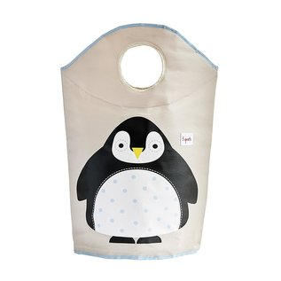 3 Sprouts Laundry Hamper, Penguin