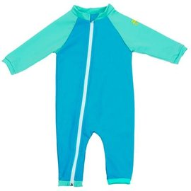 NoZone Pacific/Urchin Full Zip Baby Swimsuit